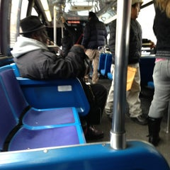 "Photo taken at MTA B38 Metro Bus by DaShawn ""The Flx 75"" P. on 2/19/2013"