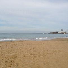Photo taken at Playa Grande by Jiri L. on 1/8/2013