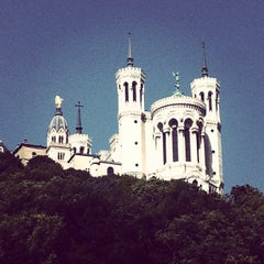 Photo taken at Basilique Notre-Dame de Fourvière by Marcela A. on 8/2/2013