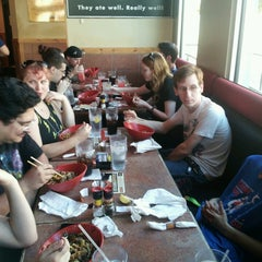 Photo taken at Genghis Grill by Riley C. on 6/2/2013