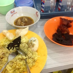 Photo taken at Nasi kuning begadang by Mizz Nunuy A. on 11/12/2012