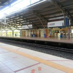 Photo taken at KTM Line - Kepong Sentral Station (KA07) by Joanne T. on 6/9/2013