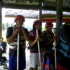 Photo taken at Kasembon Rafting by Achmad J. on 3/24/2013