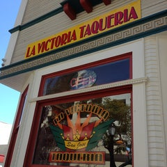 Photo taken at La Victoria Taqueria by Matthew B. on 3/11/2013