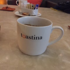 Photo taken at Toastina by İbrahim A. on 11/6/2015