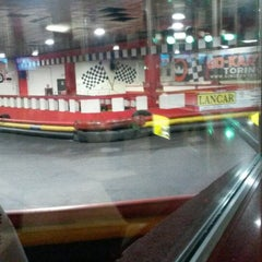 Photo taken at King Center - Go-Kart & Bowling by Sven😎🙊🎉 on 2/7/2014