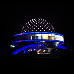 Photo taken at Planetario Galileo Galilei by Tatiane on 3/28/2013