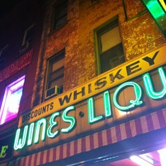 Photo taken at Broadway Wines & Liquors by Stephanie P. on 11/14/2012
