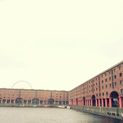 Photo taken at Albert Dock by Mikyung L. on 5/18/2013
