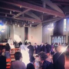Photo taken at St. John Eudes Church by Nick V. on 11/24/2012