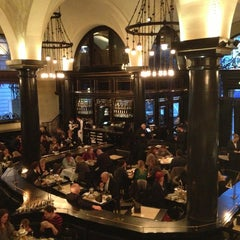 Photo taken at The Wolseley by Katya Z. on 1/22/2013