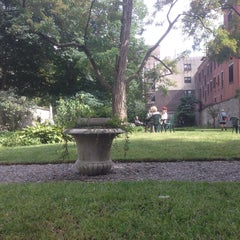Photo taken at New York City Marble Cemetery by Al A. on 9/14/2014