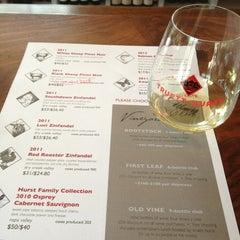 Photo taken at Truett Hurst Winery by Tina C. on 4/7/2013