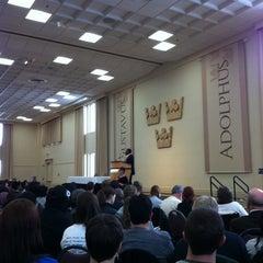 Photo taken at Alumni Hall by Dan B. on 3/9/2013