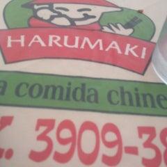 Photo taken at Restaurante Harumaki by Cláudia M. on 5/3/2014