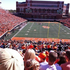 Photo taken at Boone Pickens Stadium by Robert L. on 10/20/2012