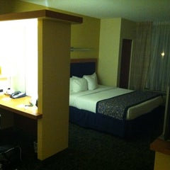 Photo taken at Marriott SpringHill Suites by Michael-John K. on 10/26/2012