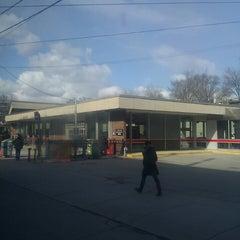 Photo taken at Bathurst Subway Station by Alexander R. on 3/20/2013