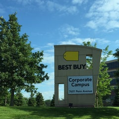 Photo taken at Best Buy Corporate HQ by Karl N. on 7/8/2015