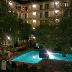 Photo taken at DoubleTree by Hilton Hotel San Antonio Airport by Christopher J. on 5/5/2013