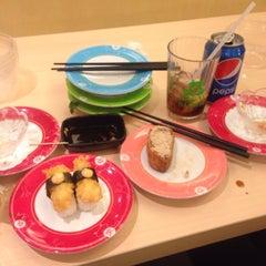 Photo taken at Sakae Sushi by karenay_ on 8/17/2015