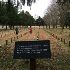 Photo taken at Stones River National Cemetery by Lucy G. on 1/2/2015