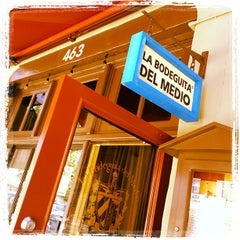 Photo taken at La Bodeguita del Medio by Beth S. on 7/26/2013