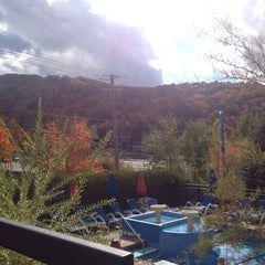 Photo taken at Hotel Château-Bromont by Adeline M. on 10/8/2014