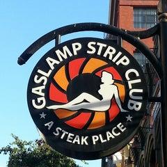 Photo taken at Gaslamp Strip Club Restaurant by Michael G. on 7/23/2013