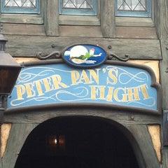 Photo taken at Peter Pan's Flight by Patrick B. on 5/6/2013
