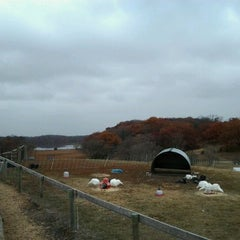 Photo taken at Gale Woods Farm by Carrie T. on 10/18/2012