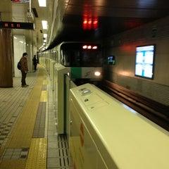 Photo taken at 地下鉄 さっぽろ駅 (N06/H07) by orange m. on 3/7/2013