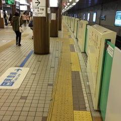 Photo taken at 地下鉄 さっぽろ駅 (N06/H07) by orange m. on 5/5/2013