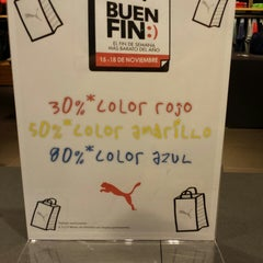 Photo taken at The PUMA Store by Humberto H. on 11/16/2013