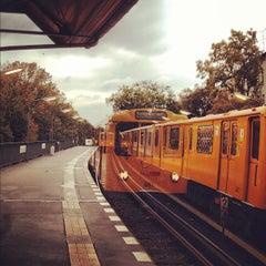 Photo taken at U Schlesisches Tor by Fritztram on 10/15/2012