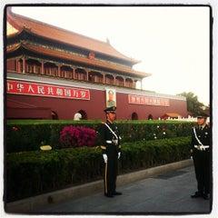 Photo taken at 天安门广场 Tian'anmen Square by Craig M. on 10/16/2012