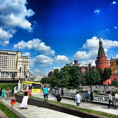 Photo taken at Манежная площадь / Manezhnaya Square by Павел С. on 6/15/2013
