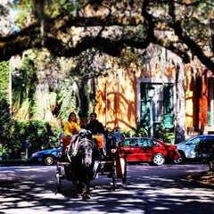 Photo taken at Historic Savannah Carriage Tours by Sha S. on 1/19/2014