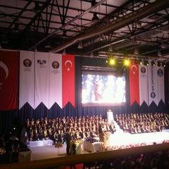 Photo taken at FMV Ayazağa Işık Lisesi by Yasin A. on 6/13/2013