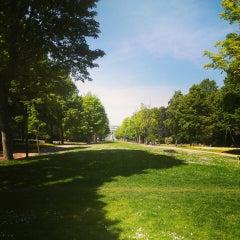 Photo taken at Zuidpark | Koning Albertpark by Lorenzo V. on 5/17/2014