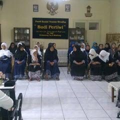 Photo taken at Panti sosial tresna wredha budi pertiwi by Renni S. on 7/22/2013