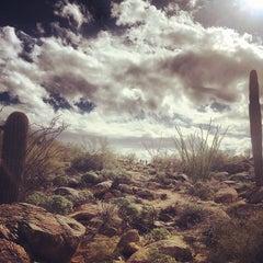 Photo taken at Mormon Trailhead by Ryan M. on 2/1/2014