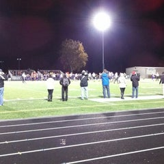 Photo taken at Pewaukee High School by Mike on 10/26/2013