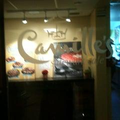 Photo taken at Camilles Sidewalk Cafe by Noel D. on 12/14/2012