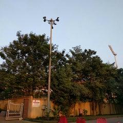 Photo taken at Dr. DY Patil Stadium (डा. डी. वाय. पाटील स्टेडीयम) by Arpit V. on 11/13/2015