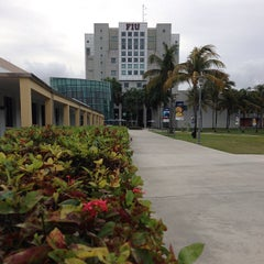 Photo taken at Florida International University by Kelly B. on 12/12/2012