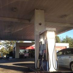 Photo taken at Exxon by Mikey I. on 10/21/2013