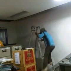 Photo taken at Bank Mandiri by savona a. on 5/12/2013