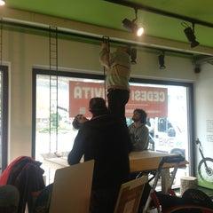 Photo taken at mUwi bike goodies by Davide A. on 3/13/2013
