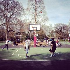 Photo taken at Ravenscourt Park by Ming Y. on 4/15/2013